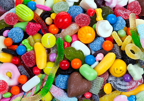Worst candies for braces